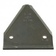 3442061 Ostrze prowadnicy 3mm dolne ocynkowane