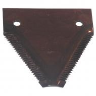 049213N Nożyk kosy ząbkowany, 3 mm