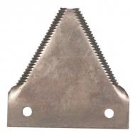C102UN Ostrze noża, z zębami 75 x 76 x 2
