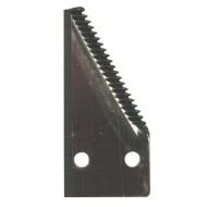 44104000Z Ostrze noża 1/2 lewe, zęby u góry