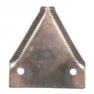 D44103700N Nożyk kosy ząbkowany, 3 mm, otwór 6 mm