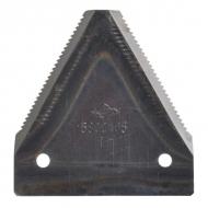 3443021 Nóż 2 mm, zęby na dole