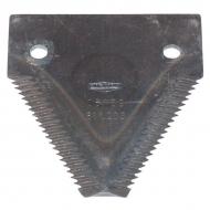 0006112031KR Nożyk kosy 2,8 mm, górnoryflowany