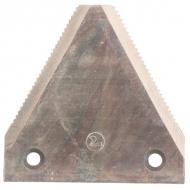 B102ON Ostrze noża, z zębami 75 x 76 x 2