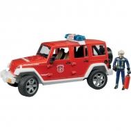 U02528 Jeep Wrangler – straż pożarna ze strażakiem