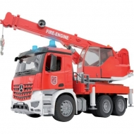 U03675 Ciężarówka Mercedes Benz dźwig straży pożarnej