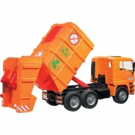U02760 MAN REFUSE TRUCK ORANGE