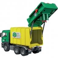 U03764 Śmieciarka MAN TGS żółta