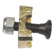 KV0100 Śruba pasowa kompletna M10x45