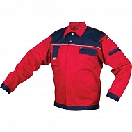 19601030080054 Bluza robocza GWB, czerwono-granatowa, roz. L