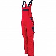 19603030080080 Ogrodniczki GWB, czerwono-granatowe, roz. XS