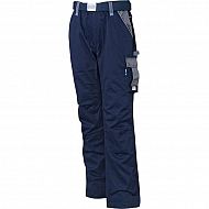 19602030091085 Spodnie robocze GWB, granatowo-szare, roz. S