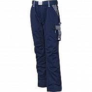 19602030091080 Spodnie robocze GWB, granatowo-szare, roz. XS