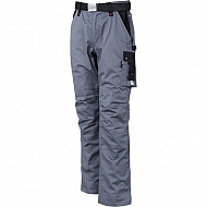 19602030090098 Spodnie robocze GWB, szaro-czarne, roz. L