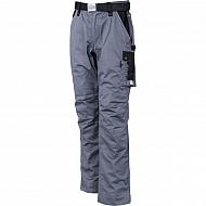 19602030090128 Spodnie robocze GWB, szaro-czarne, roz. 4XL