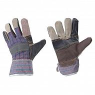 1950110120 Rękawice wzmacniane skórą licową