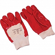 1950110810 Rękawice ochronne powlekane PCV, krótkie