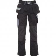 KW102830089128 Spodnie monterskie czarno/szare 4XL, Kramp Original