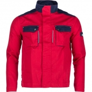 KW101030080056 Kurtka, bluza robocza czerwono-granatowa XL, Kramp Original