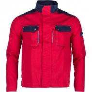 KW101030080068 Kurtka, bluza robocza czerwono-granatowa 5XL, Kramp Original