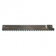 KM51219 Nóż wycinaka kiszonek pasuje do Van Lengerich, 732 X 91 X 3 FI 12,5 51.219/60.933