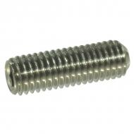 91666RVSP025 Wkręt dociskowy z końcem wgłąbionym A2 Kramp, M6 x 6 mm