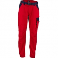 KW102030080134 Spodnie robocze czerwono-granatowe 5XL, Kramp Original
