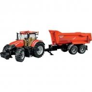 U03199 Traktor Case IH Optum 300 CVX z przyczepą