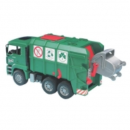 U02753 MAN REFUSE TRUCK GREEN