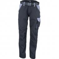 KW102030089085 Spodnie robocze czarno-szare S, Kramp Original