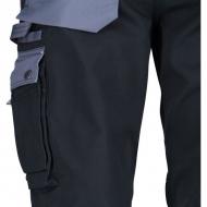 KW102030089122 Spodnie robocze czarno-szare 3XL, Kramp Original
