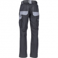 KW102030089128 Spodnie robocze czarno-szare 4XL, Kramp Original