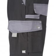 KW102030089134 Spodnie robocze czarno-szare 5XL, Kramp Original