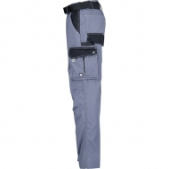KW102030090085 Spodnie robocze szaro-czarne S, Kramp Original
