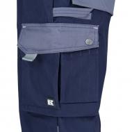 KW102030091080 Spodnie robocze granatowo-szare XS, Kramp Original