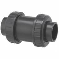 RV020PVC Zawór zwrotny odcinający z PCW z mufą wklejaną VdL, 20 mm DN 15