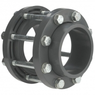 KIT075 Zestaw przyłączeniowy z PCW do zaworu klapowego odcinającego VdL, DN 65 75 x 75 mm
