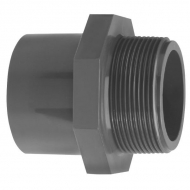 """72025123GP Złącze redukcyjne PCW-U gw. zew. BSP Gopart, 20/25 mm x GZ 1/2"""""""