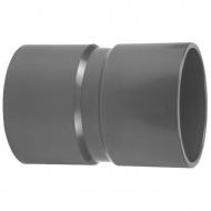 7050100 Złącze z mufą PCW-U VdL, 50 x 50 mm