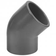 7250645 Kolanko PCW-U 45° VdL, 250 x 250 mm 10 bar