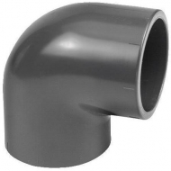 7040595 Kolanko 90° PCW-U VdL, 40 x 40 mm 16 bar