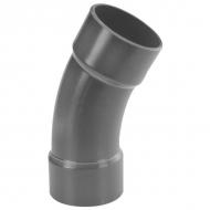 7090530 Kolanko PCW-U 30° z mufą VdL, 90 x 90 mm 10 bar