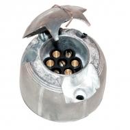 LA74000 Gniazdo wtykowe 7-styk. metal