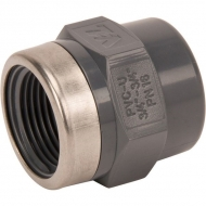 "PVC7SOC34F Adapter, opr.gn.wt. 3/4"" gw.w."