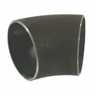 """FG4506 Kształtka rurowa nr 450 kolano do spawania 45° czarne, 6"""" 159, 0 x 4, 5 mm"""