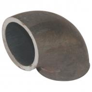 """FG9008 Kształtka rurowa nr 900 kolano spawane 90° czarne, 8"""" 219,1 x 6,3 mm"""