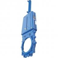 VGRDEH100 Zasuwa płytowa + sterowanie hydrauliczne DN100