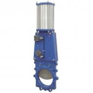 VGRP100 Zasuwa płytowa + sterowanie pneumatyczne DN100
