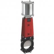 DN350VNCN Zasuwa płytowa VNC ze sterowaniem pneumatycznym WEY, DN 350