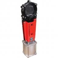 """DN150VGC Zasuwa płytowa z kołnierzem VGC ze sterowaniem pneumatycznym WEY, 6"""""""